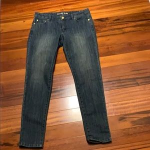 Michael Kors Izzy skinny jeans dark wash